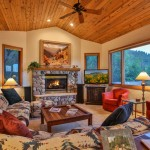 "Yampa Vista Chalet: Living Room with 47"" Samsung TV"