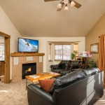 Quail Run 806: Surround Sound System, Gas log fireplace