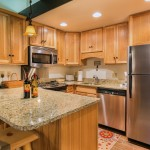 Storm Meadows: Club A, unit 212: Fully equipped kitchen